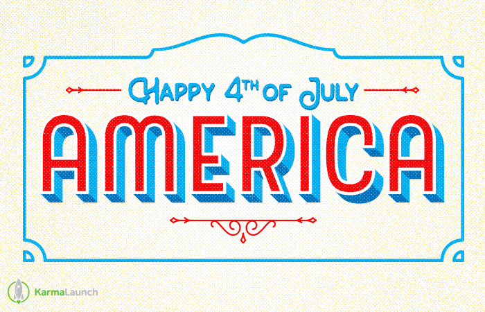 Happy 4th of July America!