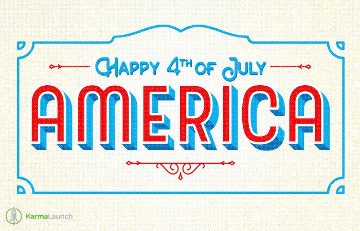 Happy 4th of JulyAmerica!